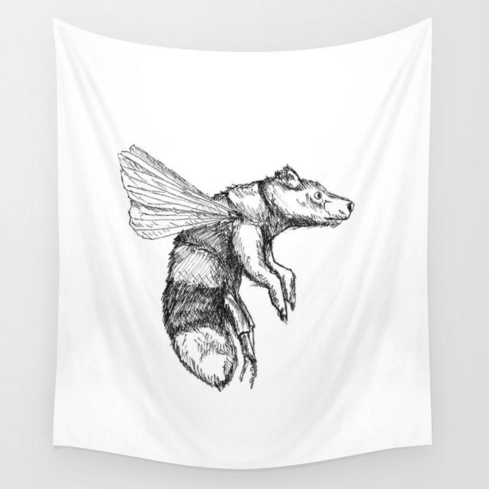 Bumblebear Wall Tapestry