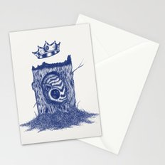 King of the Little Forrest Stationery Cards