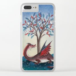 Peridexion tree Clear iPhone Case