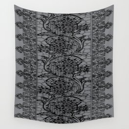 Vintage Lace Sharkskin Wall Tapestry