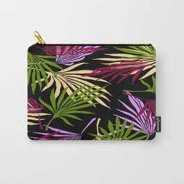 Jungle Black Carry-All Pouch