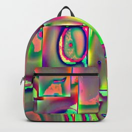 Surreal with flate tire Backpack
