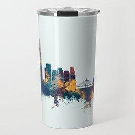 Seoul Skyline South Korea Travel Mug