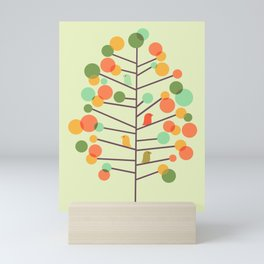 Happy Tree - Tweet Tweet Mini Art Print