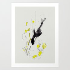 Blackfish Art Print