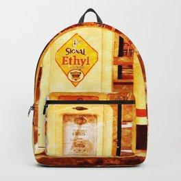 Vintage Gas Pumps :) Backpack