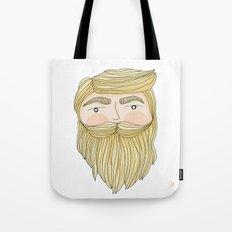 The Illusive Blonde Beard Tote Bag