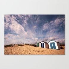 Southwold Beach Huts Canvas Print