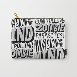 Zombie Parasites Carry-All Pouch