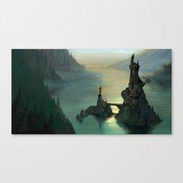 The Hidden Isle Canvas Print