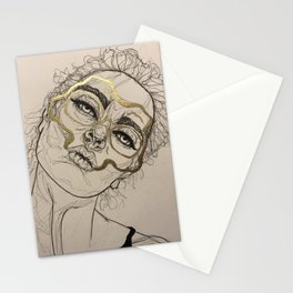 Golden loss Stationery Cards