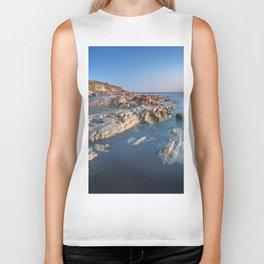 Ocean and Rocks Biker Tank