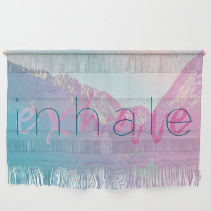 Inhale / Exhale Wall Hanging