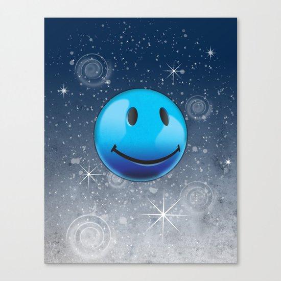 Sparkle Night Canvas Print
