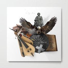 19 // 22 (Totem of the Eagle) Metal Print