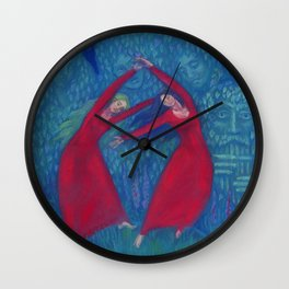 Hexentanz / Dance of the witches Wall Clock