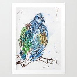 Bird of the Urban Tropics Art Print