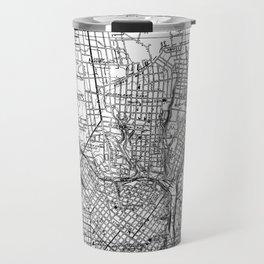 Vintage Map of Richmond Virginia (1934) BW Travel Mug