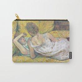 """Henri de Toulouse-Lautrec """"L'abandon (Les deux amies)"""" Carry-All Pouch"""