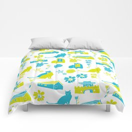 summer time Comforters