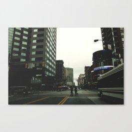 Public Transit Canvas Print