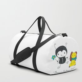 Ant with dog Duffle Bag