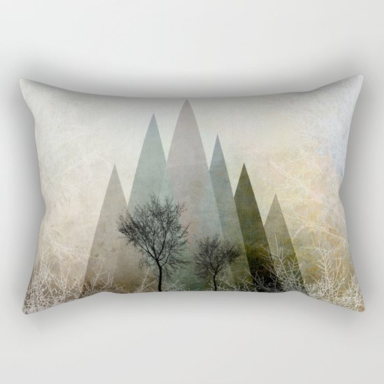 TREES IV Rectangular Pillow