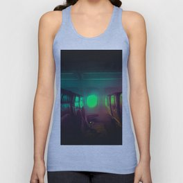 Alone in the air by #Bizzartino Unisex Tank Top