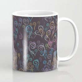 Pixelated Spirals Coffee Mug