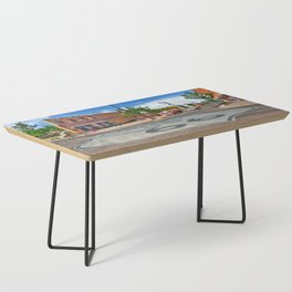 Standin on the Corner Route 66 in USA Coffee Table