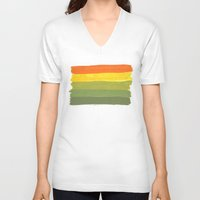 1975 V-neck T-shirts featuring 1975 by Joshua Lee