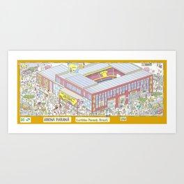 Paraná Arena, Curitiba, Paraná, Brazil Art Print
