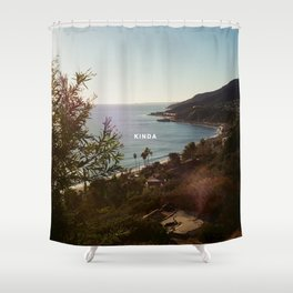 lany kinda Shower Curtain