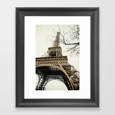 Le Tour Eiffel Framed Art Print