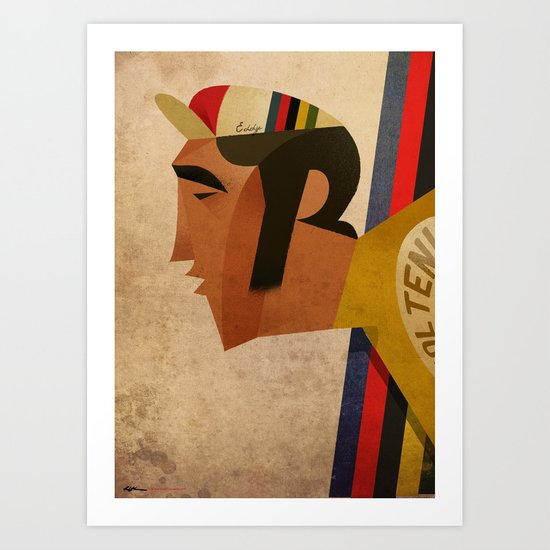 Eddy Art Print