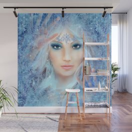 Ice Princess Wall Mural