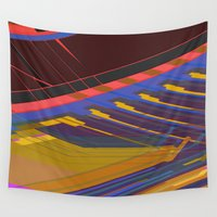 data Wall Tapestries featuring Data Path by dBranes
