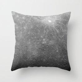 Intimate Moon Throw Pillow