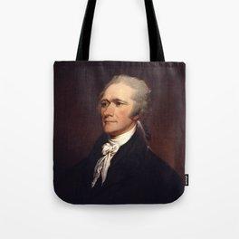Alexander Hamilton by John Trumbull Tote Bag