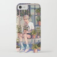 plants iPhone & iPod Cases featuring plants by KEL H