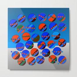 Bubbes Blues Metal Print