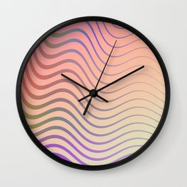 PsyWaves Wall Clock