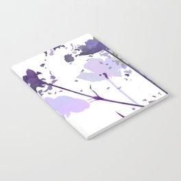 Field of Flowers Indigo Notebook