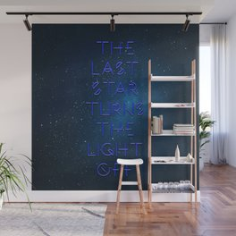 The last Star Wall Mural