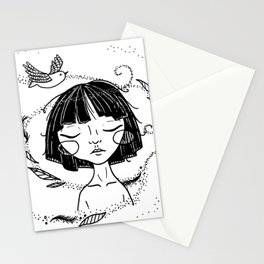 Free as a Bird - Ink Version Stationery Cards