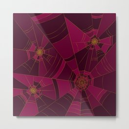 Abstract Halloween theme Metal Print