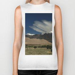 High Mountains and Sand Dunes Biker Tank