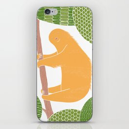 Sleepy Happy Sloth iPhone Skin