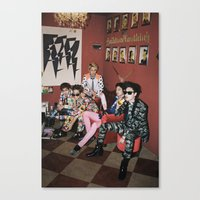 shinee Canvas Prints featuring SHINee by Felicia
