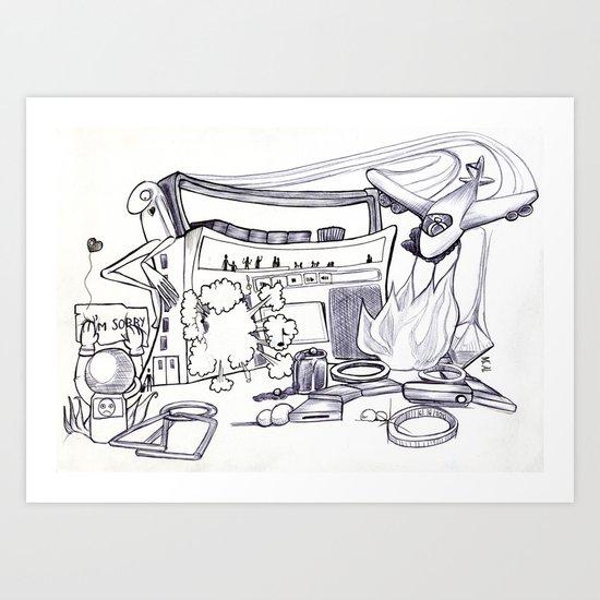 Project 5 Sab Art Print